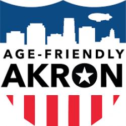 Age Friendly Akron logo